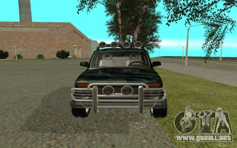 VAZ 21213 para la visión correcta GTA San Andreas