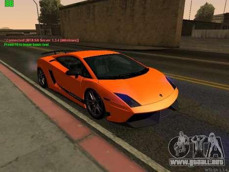Lamborghini Gallardo LP560-4 SL UGR Altecho para GTA San Andreas