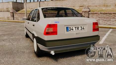 Fiat Tempra SX.A para GTA 4 Vista posterior izquierda