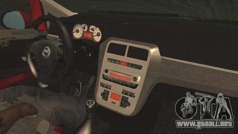 Fiat Grande Punto para la visión correcta GTA San Andreas