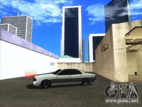 New Merit para GTA San Andreas vista posterior izquierda