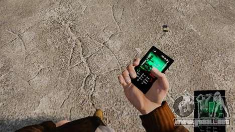 Temas de Rock gótico para su teléfono para GTA 4 quinta pantalla