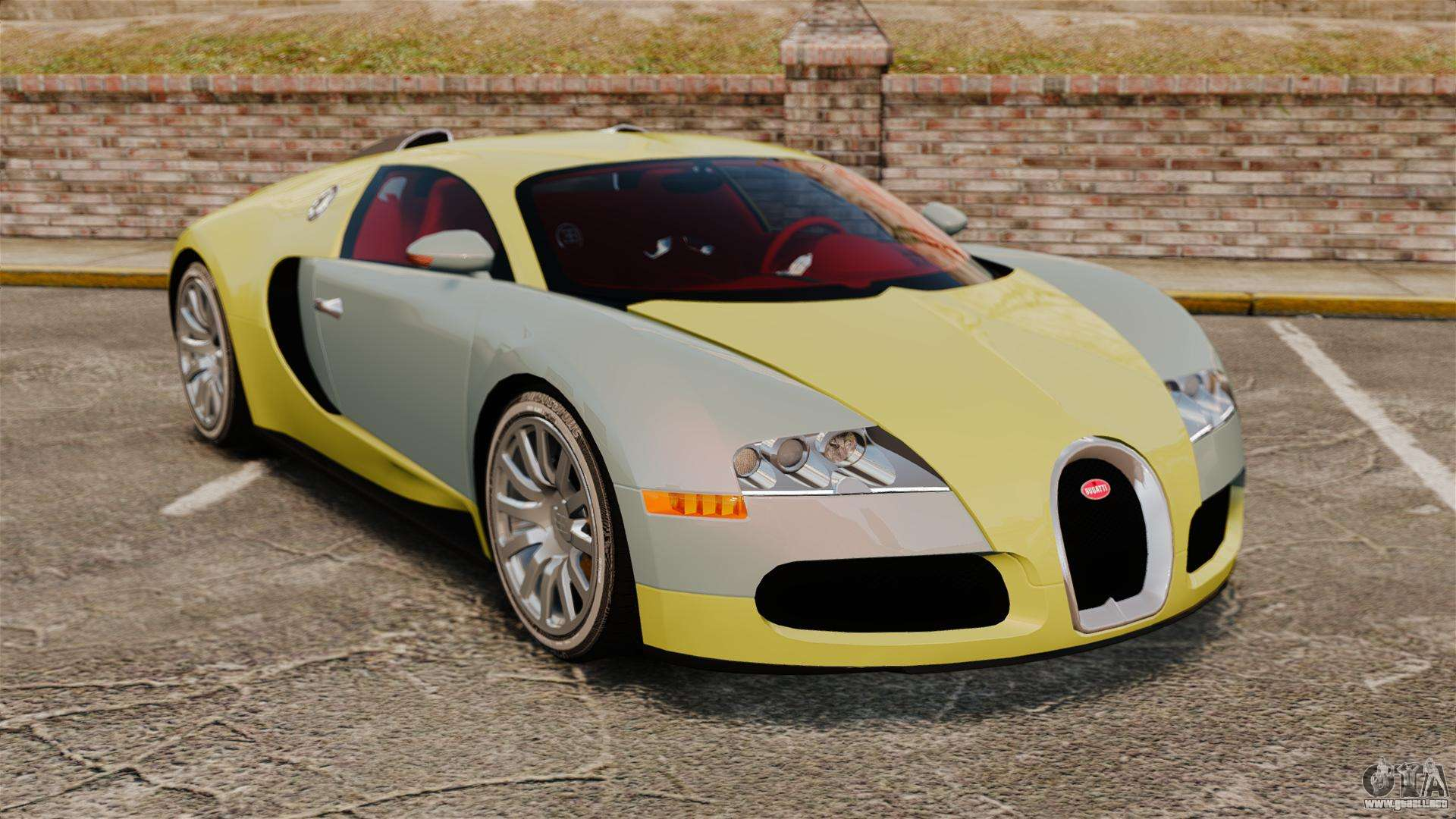 bugatti veyron gold centenaire 2009 para gta 4. Black Bedroom Furniture Sets. Home Design Ideas