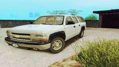Chevrolet Suburban SAPD FBI para GTA San Andreas