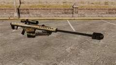 El francotirador Barrett M82 rifle v14 para GTA 4