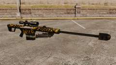 El francotirador Barrett M82 rifle v11 para GTA 4