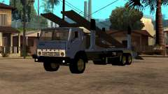 Camión KAMAZ 43085 para GTA San Andreas