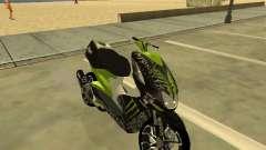 Yamaha Aerox para GTA San Andreas