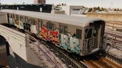Nuevo graffiti en el metro v1