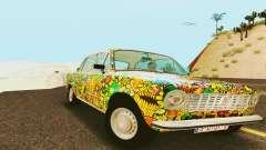 VAZ 21011 Hippie para GTA San Andreas