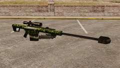 El v4 de rifle de francotirador Barrett M82
