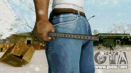 Regla de acero para GTA San Andreas