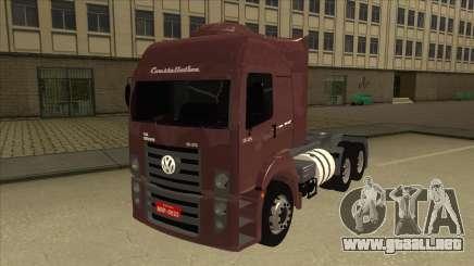 Volkswagen Constellation 25.370 Tractor para GTA San Andreas