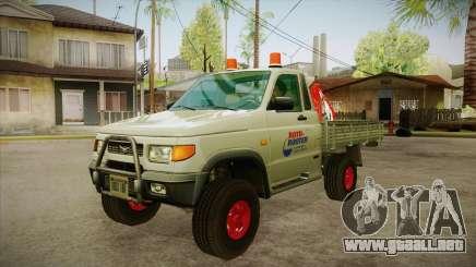 Agua de reparación UAZ 2360 SA para GTA San Andreas