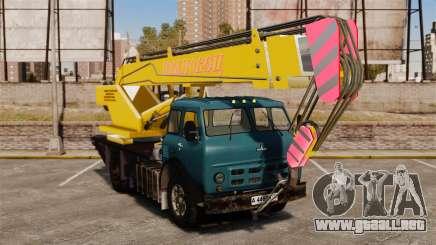 MAZ KS3577-4-1 Ivanovets para GTA 4