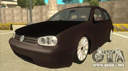 VW Golf 4 Tuned para GTA San Andreas