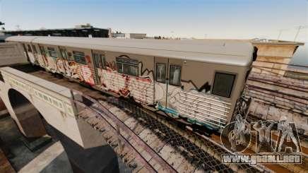 Nuevo graffiti en el metro v2 para GTA 4