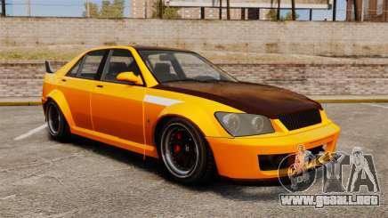 Sedán Sultan RS para GTA 4
