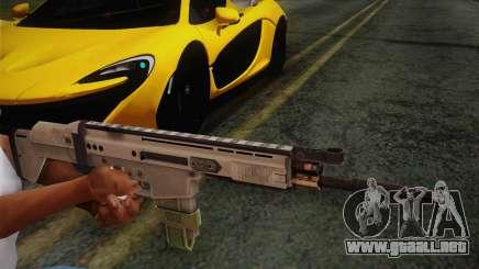 FN Scar para GTA San Andreas