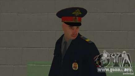 Sargento de la policía para GTA San Andreas