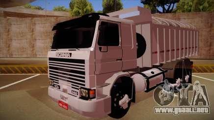 Scania 113H Frontal Caçamba BETA para GTA San Andreas
