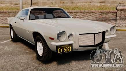 Chevrolet Camaro Z28 1970 para GTA 4