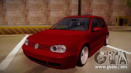 Volkswagen Golf Mk4 Euro para GTA San Andreas