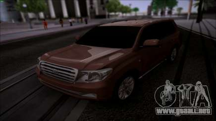 Toyota Land Cruiser 200 para GTA San Andreas