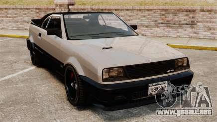 La versión convertible del Blista para GTA 4