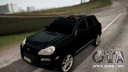 Porsche Cayenne SUV para GTA San Andreas