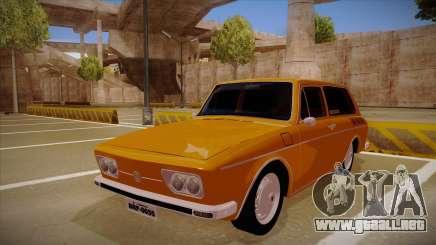 VW Variant 1972 para GTA San Andreas