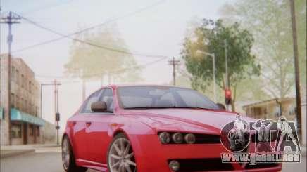 Alfa Romeo 159 Sedan para GTA San Andreas