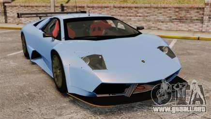Lamborghini Murcielago RSV FIA GT1 v3.0 para GTA 4