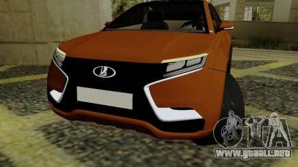 Lada X-RAY para GTA San Andreas