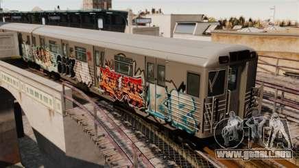 Nuevo graffiti en el metro v1 para GTA 4