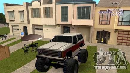 Rancher Monster para GTA San Andreas