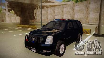 Cadillac Escalade 2011 FBI para GTA San Andreas