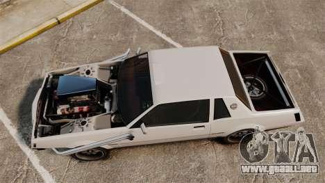 Sabre Rod Ride para GTA 4 visión correcta