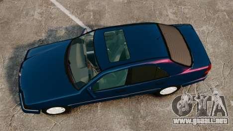 Mercedes-Benz C220 W202 v2.0 para GTA 4 visión correcta