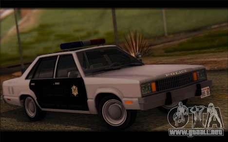 Ford Fairmont 1978 4dr Police para GTA San Andreas