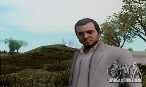 Trevor, Michael, Franklin para GTA San Andreas segunda pantalla