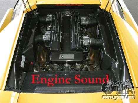 Sonido motor Lamborghini Murcielago para GTA 4