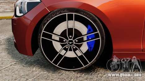 BMW M135i 2013 para GTA 4 vista interior