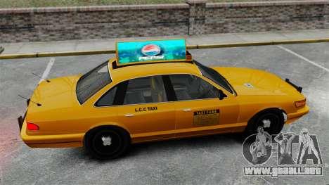 Real publicidad en taxis y autobuses para GTA 4 décima de pantalla