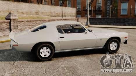 Chevrolet Camaro Z28 1970 v1.1 para GTA 4 left