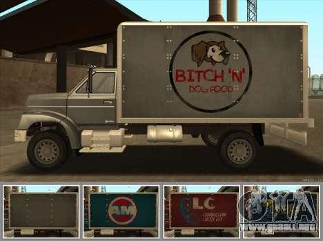 Yankee HD from GTA 3 para GTA San Andreas vista posterior izquierda