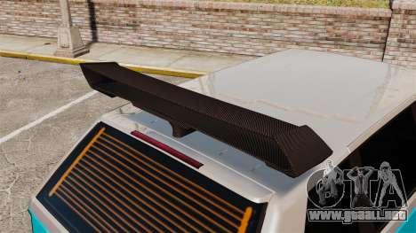 Extreme Spoiler Adder 1.0.7.0 para GTA 4 décima de pantalla