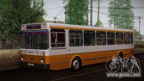 LIAZ piel 5256.00 3-Pack para la vista superior GTA San Andreas