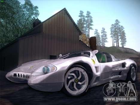 Ferrari P7 Chromo para el motor de GTA San Andreas