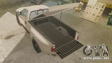 Ford F-350 Pitbull para GTA 4 vista lateral